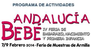 Programa de actividades Andalucía Bebé 2014